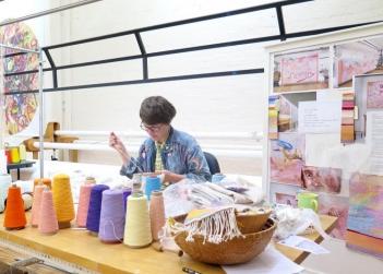 Australian Tapestry Workshop Artist Residency